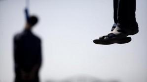 Public hanging in Iran 2014.