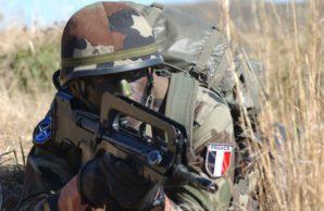 French commando participates in NATO war games in Europe.