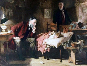 """The Doctor"" by Luke Fildes."