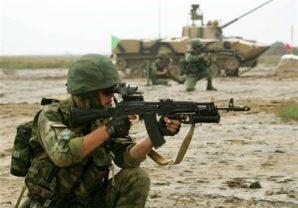 Russia is organized to fight a two war strategyRussian Ministry of Defense