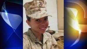 Young Marine killed. Sara Castromata.