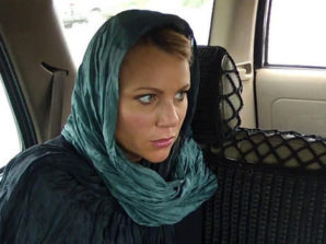 Lara Logan wearing make up in the back seat of a car with a high level Taliban leader?
