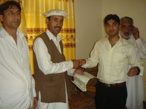 Key and Documents handed over to owner