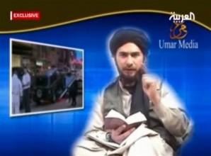 Terrorist preaching hate using the Quran.