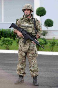Soldier Montenegro.
