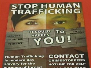 Human Trafficking - It could happen to you!