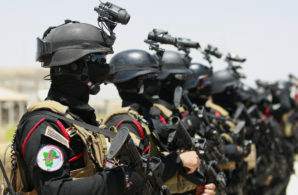 Iraqi anti-terrorism special forces trained and equipped by the United States.