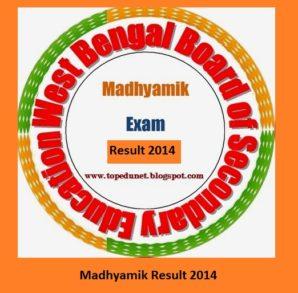 Madhyamik Result 2014
