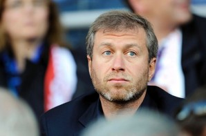Chelsea owner Abramovich attends World Cup 2010 qualifying soccer match between Finland and Russia at Olympic Stadium in Helsinki