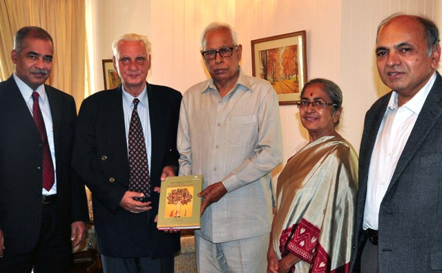 The Languages of J&K being presented to the Governor