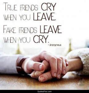 True friendship is reciprocal. True friendship consists of a mutual feeling of goodwill between two people