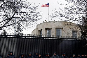 Heavily fortified US embassy in Ankara, Turkey is the HQ of the effort to arm, train and finance ISIS. The article quotes the Hariri-insider saying that prominent U.S. citizens, along with others, have been planning the current ISIS campaign since 2013, that the headquarter for operations is the U.S. Embassy in Turkey's capital Ankara and that no decisions are made without U.S.Ambassador Riccardione...