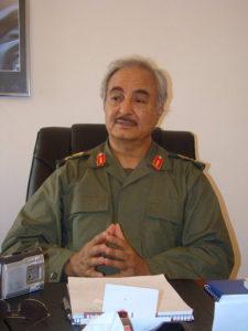 Libyan General Khalifa Haftar
