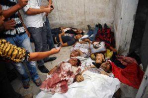 Massacre of Christians in Egypt in 2014.