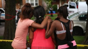 People in Chicago mourn the loss of a 13 year old boy shot to death over the 4th of July weekend.