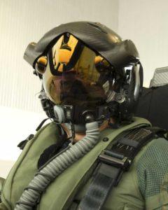 F-35 helmet-mounted display system...