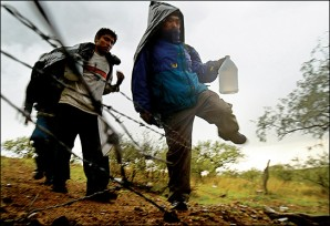 Illegals crossing into Fort Huachuca in Arizona - how much easier for a trained terrorist operative to do so?