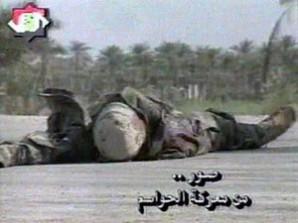 US Marine killed by snipe in Iraq.