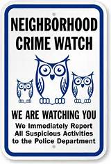 Surveillance - you are being watched signs - works!