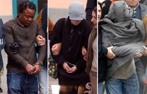 Patrick, Amanda and Raffaele Arrested