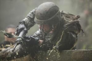 US Marine participate in grueling Jungle Warfare training in 2014.