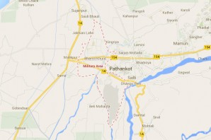 """Oops! Pathankot  military base was """"top secret"""" apparently!"""