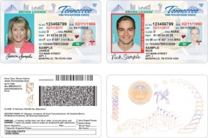 New Drivers License in Tennessee seek to embed counter measures to prevent fraudulent ID theft. In Kansas they state claims it can't afford it?