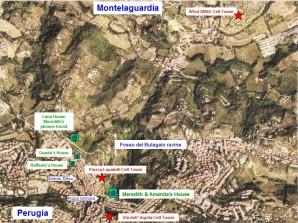 Perugia Locations