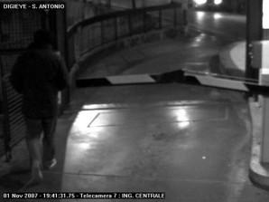 Rudy Guede CCTV camera 7