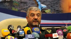 """""""We are ready to support the Palestinian resistance in different dimensions,"""" General Jafari told reporters in Tehran on Monday."""