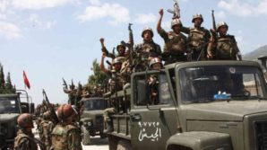 Battle hardened, well trained, disciplined Syrian army troops retake parts of Damascus from US backed Islamic terrorists.