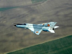 Russian-made MiG-21 of the type flown by a Syrian Air Force.