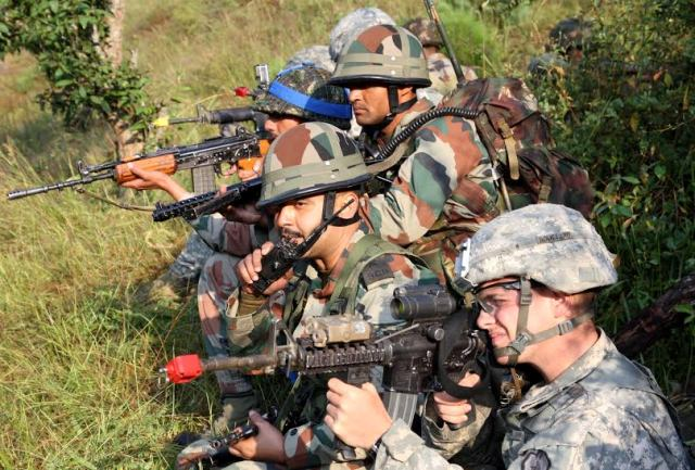 India and US Military training exercise in Uttarakhand