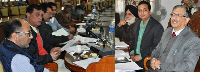 JK CEO holds meeting with pol parties' reps