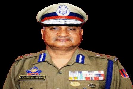 Director General of Police,  K. Rajendra Kumar