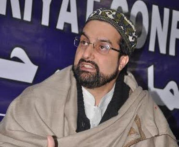 APHC leader, Mirwaiz Umar Farooq-FILE PHOTO
