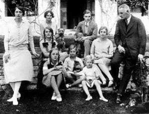 The Mitord Family in 1921