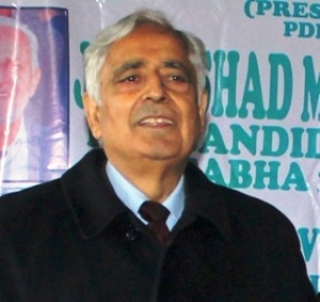 Peoples Democratic Party (PDP) patron Mufti Mohammad Sayeed -File Photo