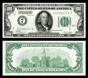 US-$100-FRN-1928-Fr.2150-G