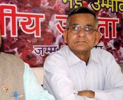 Prof Hari Om, Political Advisor to BJP State President Jugal Kishore Sharma