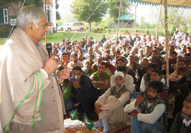 PDP CHIEF Mufti Syed