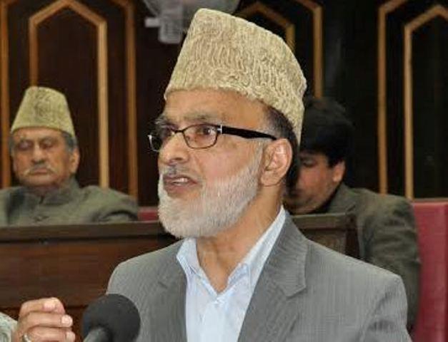 Ali Mohammad Sagar, General Secretary J&K National Conference