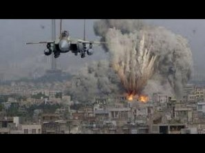 US airstrike on ISIL.