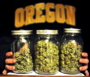 Medical grade marijuana in Oregon.