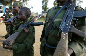 Child soldiers in the Democratic Republic of Congo. Sadly for these children they will know only war the rest of their lives.
