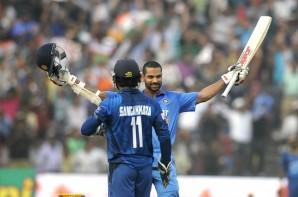 India vs Sri Lanka Dhawan