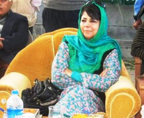Peoples Democratic Party (PDP) president, Mehbooba Mufti