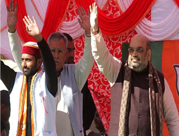 BJP National President Amit Shah and other BJP leaders