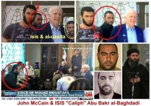 """McCains statement regarding Iran are like """"the Pot calling the Kettle black."""" In reviewing his statement and fact checking it we discovered it was McCain who has been complicit in the rise of ISIS - not Iran."""