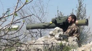 So called Moderate Islamic militant firing anti tank round  in Syria.